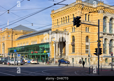 hannover hauptbahnhof main railway station ernst august platz stock photo 73235566 alamy. Black Bedroom Furniture Sets. Home Design Ideas