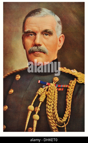 General Sir. William Robertson 1st Baronet (1860-1933), Chief of the Imperial General Staff between 1916-1918. - Stock Photo