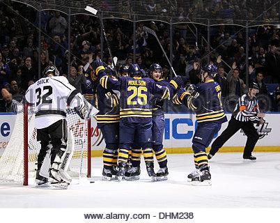 Buffalo, New York, USA. 12th Nov, 2013. November 12, 2013 Buffalo , NY during thesecond period of play between the - Stock Photo