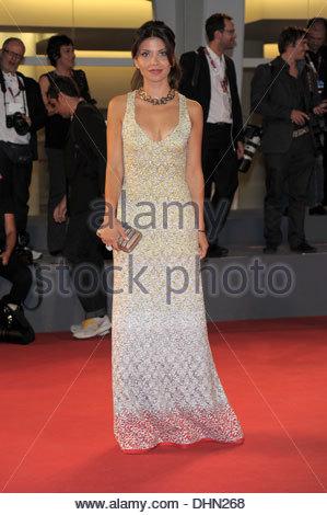claudia potenza,70th international venice film festival - Stock Photo