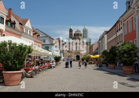 Speyer downtown - Stock Photo