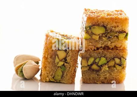 arabian baklava - Stock Photo