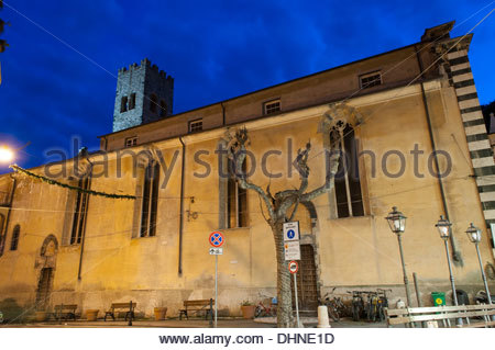 Church of San Giovanni Battista,monterosso al mare,cinque terre,liguria,italy Stock Photo