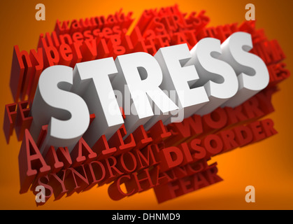 Stress Concept. - Stock Photo