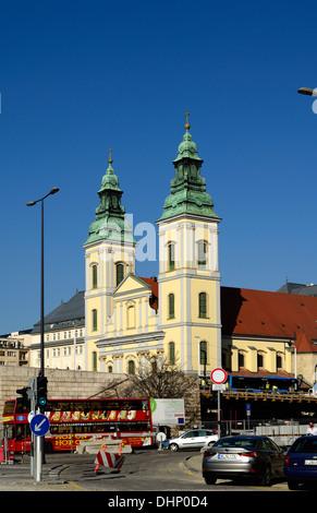Inner City Parish Church (Belvárosi Plébániatemplom) in Budapest Hungary Europe - Stock Photo