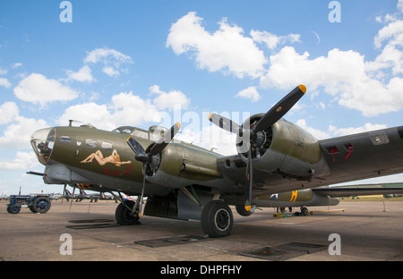 Sally B. Boeing B-17G Flying Fortress - Stock Photo