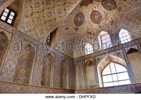 Iran,Isfahan,Ali Qapu palace - Stock Photo