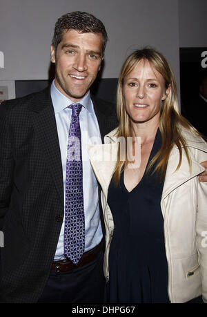 Jeremy Davidson and Mary Stuart Masterson The 2012 Ensemble Studio Theatre Gala at SIR Stage 37  Featuring: Jeremy - Stock Photo