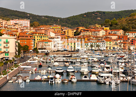 Porto Santo Stefano, Monte argentario, Province of Grosseto, Tuscany, Italy - Stock Photo