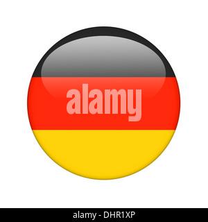 The German flag - Stock Photo