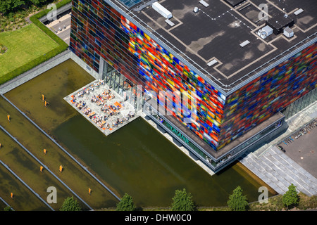 Netherlands, Hilversum, The Netherlands Institute for Sound and Vision in the area for cross media called Mediapark. - Stock Photo
