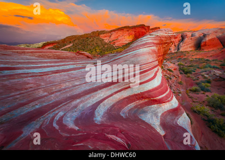 Valley of Fire State Park, Nevada - Stock Photo