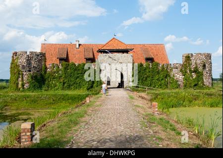 Kiermusy, Gmina Tykocin, Białystok County, Podlaskie Voivodeship, Poland - Stock Photo