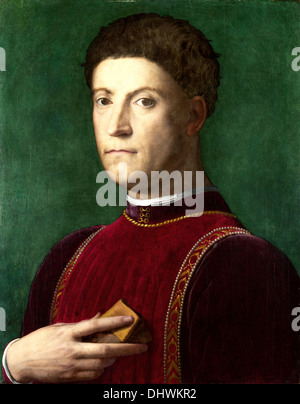 Piero di Cosimo de Medici - by Agnolo Bronzino - Stock Photo