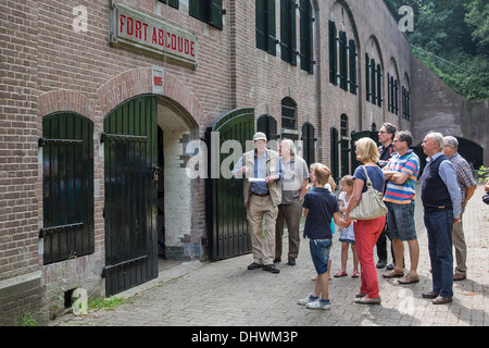 Netherlands, Abcoude, Fort Abcoude near river Vecht. Oldest fort, Defense Line of Amsterdam. UNESCO World Heritage - Stock Photo