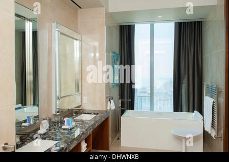 High end, luxury bathroom Stock Photo, Royalty Free Image ...