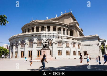 Yerevan Opera Theater, Armenia - Stock Photo