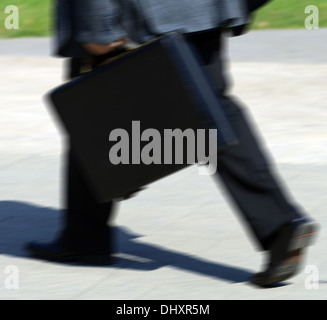 Business on the run conceptual image - Stock Photo