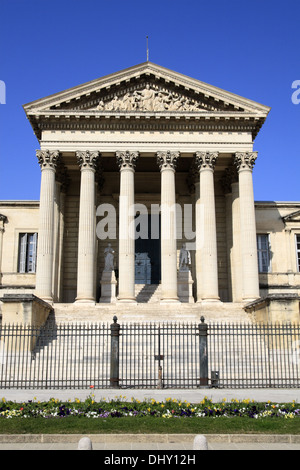 Law courts in  Montpellier,  Languedoc Roussillon,  France - Stock Photo