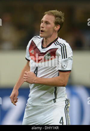 Milan, Italy. 15th Nov, 2013. Germany's Benedikt Hoewedes during the friendly soccer match between Italy and Germany - Stock Photo