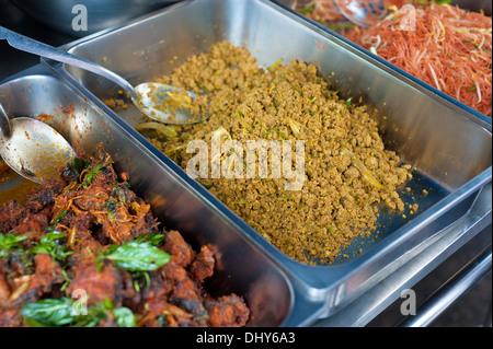 Curries thai sreet food . - Stock Photo
