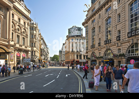 Piccadilly Circus is a road junction and public space of London's West End - Stock Photo