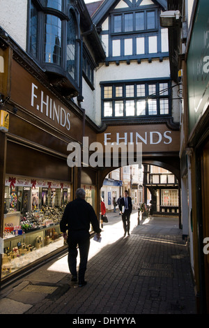 Evesham, a market town in Worcestershire England UK  F.Hinds - Stock Photo
