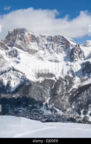Dolomiti surroundings San Martino di Castrozza. - Stock Photo