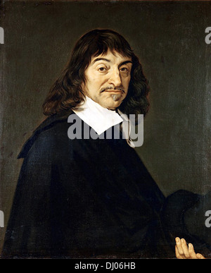 René Descartes, French philosopher, mathematician, and writer - Stock Photo