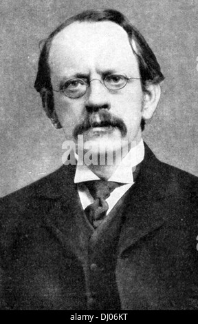 Sir Joseph John 'J. J.' Thomson, discovery and identification of the electron. - Stock Photo
