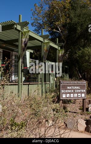 The Tucker Wildlife sanctuary building  in Modjeska Canyon Silverado owned by  California State University, Fullerton - Stock Photo