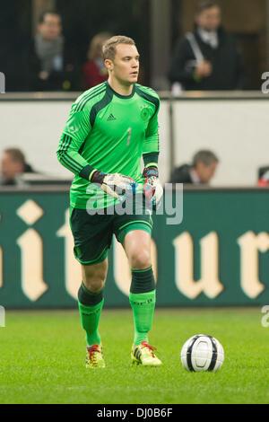Manuel Neuer (GER), NOVEMBER 15, 2013 - Football / Soccer : International friendly match between Italy 1-1 Germany - Stock Photo