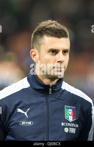 Thiago Motta (ITA), NOVEMBER 15, 2013 - Football / Soccer : International friendly match between Italy 1-1 Germany - Stock Photo