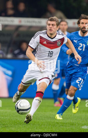 Milan, Italy. 15th Nov, 2013. Toni Kroos (GER) Football / Soccer : International friendly match between Italy 1 - Stock Photo