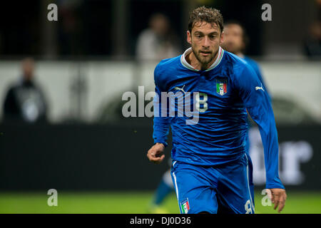 Milan, Italy. 15th Nov, 2013. Claudio Marchisio (ITA) Football / Soccer : International friendly match between Italy - Stock Photo