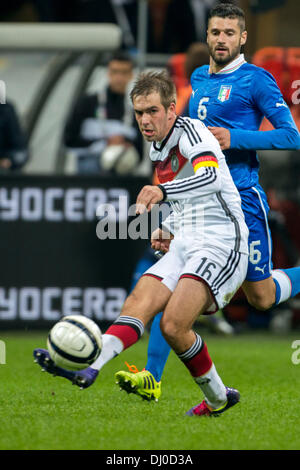Milan, Italy. 15th Nov, 2013. Philipp Lahm (GER) Football / Soccer : International friendly match between Italy - Stock Photo