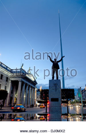 O'connell street,dublin,ireland - Stock Photo