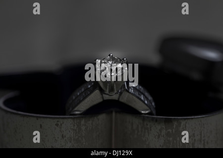 Ring woman jewel jewelry love diamond - Stock Photo