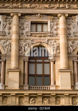 Detail of the front facade of the Kunsthistorisches Museum. Kopernikus window - Stock Photo