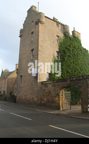 Dornoch Castle Hotel Scotland  November 2013 - Stock Photo