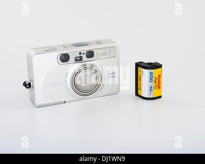 Minolta Vectis 300L APS film camera - Stock Photo