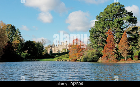 The House At Sheffield Park, Uckfield, East Sussex, England, Uk  (National Trust) - Stock Photo