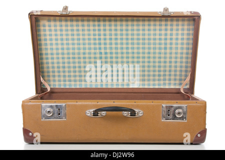 the open suitcase - Stock Photo