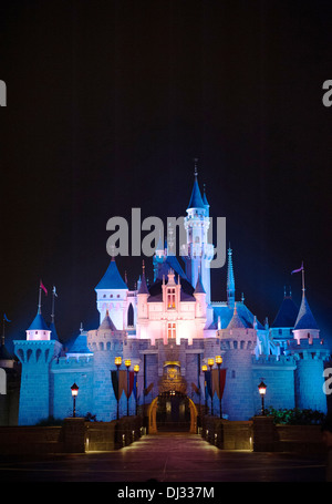Hong Kong DisneyLand Castle - Stock Photo
