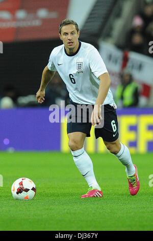 London, Germany. 19th Nov, 2013. England's Phil Jagielka during the soccer international match England vs Germany - Stock Photo