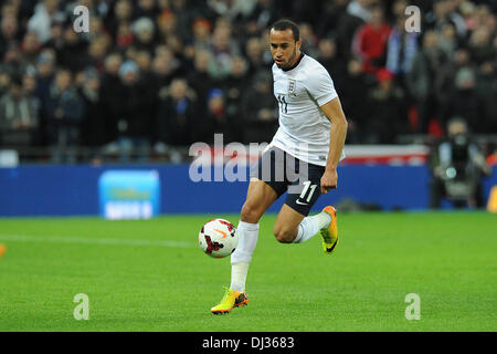 London, Germany. 19th Nov, 2013. England's Andros Townsend during the soccer international match England vs Germany - Stock Photo