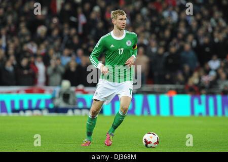 London, Germany. 19th Nov, 2013. Germany's Per Mertesacker during the soccer international match England vs Germany - Stock Photo