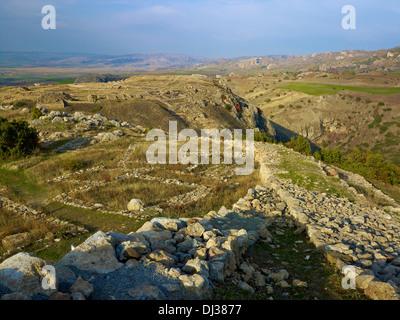 Hittite capital Hattusha, Turkey - Stock Photo