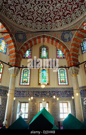 Türbe of Sultan Murad III, Ayasofya Türbeleri, Istanbul, Turkey 130912 31136 - Stock Photo
