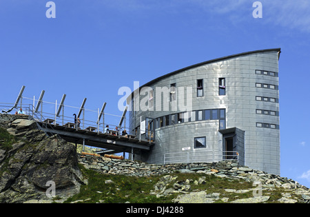 Velan refuge, Pennine Alps, Switzerland - Stock Photo